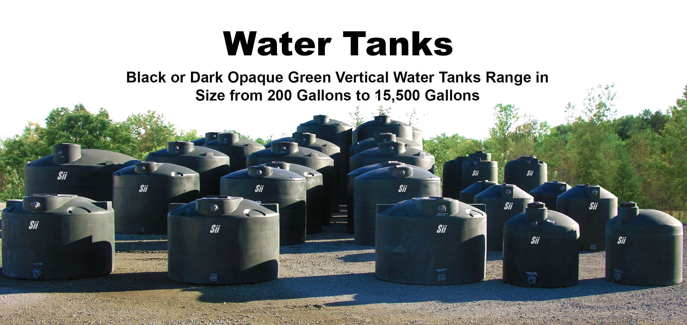 Snyder Tractor Parts Catalog : Water tanks